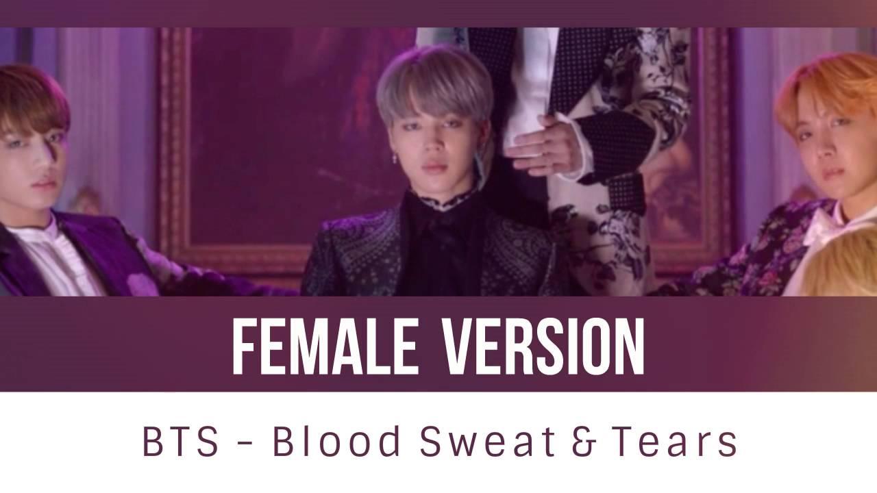 BTS - Blood Sweat & Tears [FEMALE VERSION]