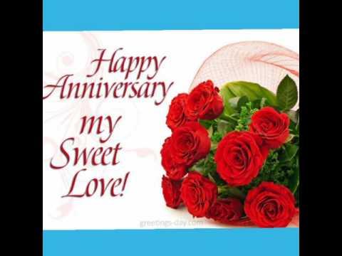 """""""Happy 3 year anniversary my sweet love"""""""