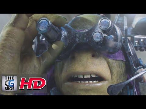 """CGI VFX Breakdown HD: """"Teenage Mutant Ninja Turtles: Breakapart Reel"""" - by Image Engine"""