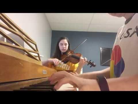 Burn from Hamilton    Violin and piano