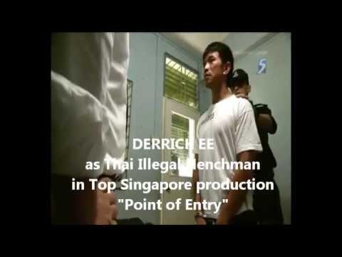 Derrick Ee The International Movie Star, Male Actor Singapore Asia Portfolio 2013