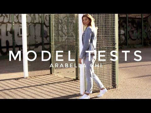 MODEL TESTS: Arabella Chi