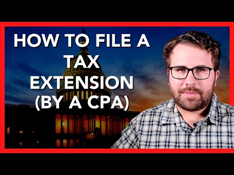 How To File A Tax Extension STEP-BY-STEP FULL WALKTHROUGH