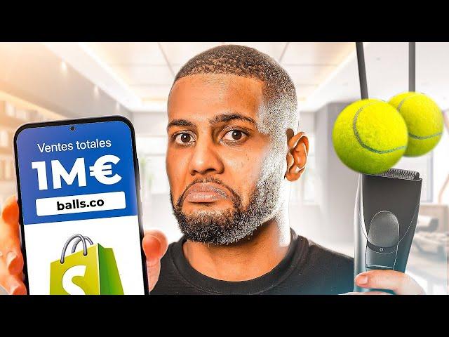 Balls.co - 1'000'000€ PAR MOIS AVEC UN RASOIR POUR LES C****? (E-COMMERCE)