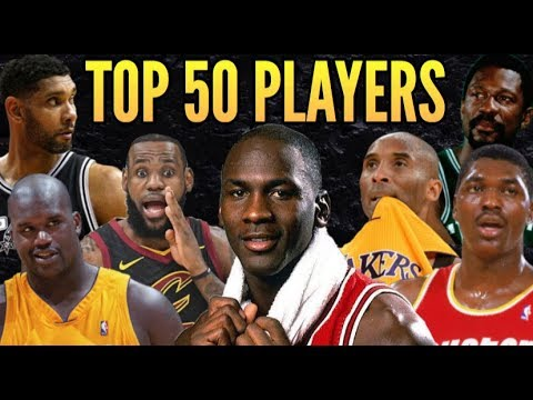 Top 50 NBA Players Of All Time + GOAT Pyramid