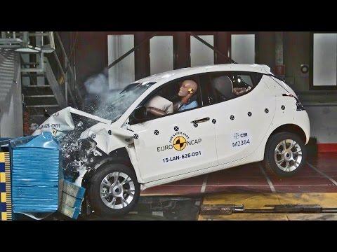 ► 2016 Lancia Ypsilon - CRASH TEST
