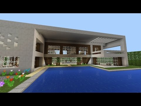 Maison de luxe minecraft pe serveur de l 39 architecte youtube - Photo de maison de luxe ...