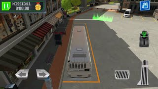 Bus Station: Learn to Drive! | Otobüs Park Etme Oyunu - Android Gameplay screenshot 4