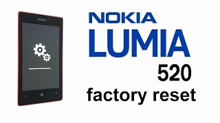 Nokia Lumia 520 521 Hard Reset, Factory / Master Reset, Screen Lock Removal