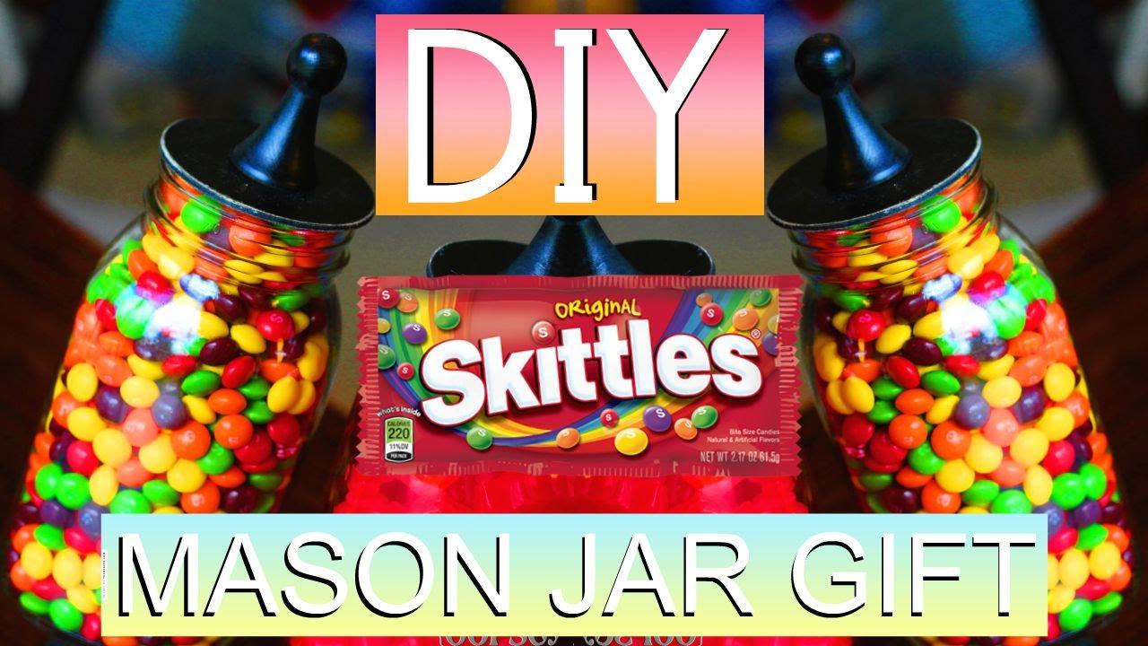 DIY: MASON JAR GIFT! + birthday shoutout - YouTube