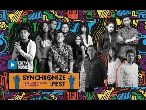 SYNCHRONIZE FESTIVAL 2017 // MEET AND GREET - KOTAK MUSIK