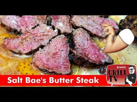 Salt Bae's  Butter Steak - Nusret Gökçe Steakhouse Restaurant