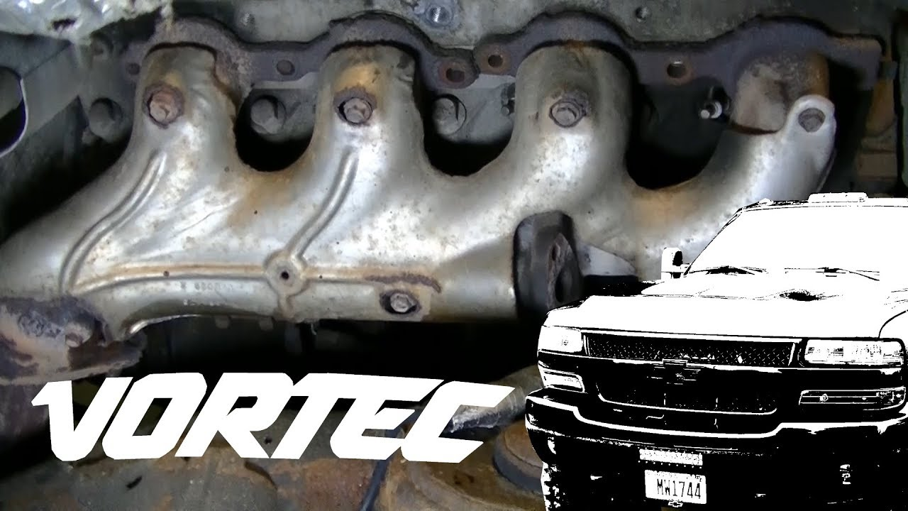 Silverado 2500HD Broken Exhaust Manifold Bolts Removal