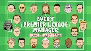 ⚽️#1 Every Premier League Manager Reacts!⚽️