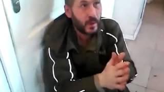 Якут избивает москвича дезертира ДНР. Епизод гражданской войны в Украине/ War in Ukraine
