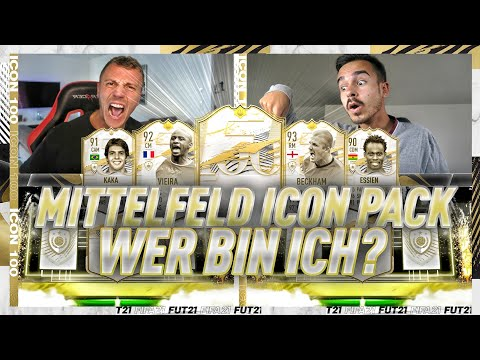 3 FRAGEN REICHEN ZUM SIEG 😱🔥 FIFA 21 : Garantierte Mittelfeld ICON Wer Bin Ich?!