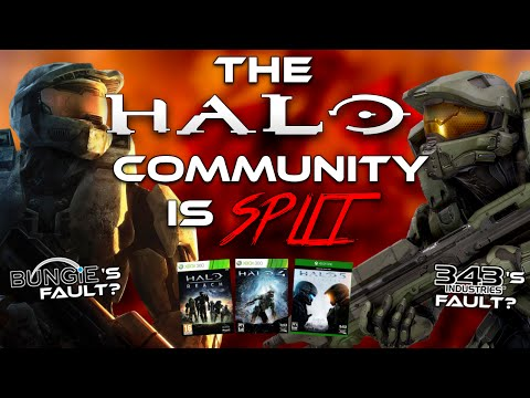 Why the Halo Community is split: Who tarnished Halo's reputation?