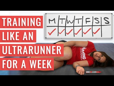 I Trained Like An Ultrarunner For A Week And This Is What I Learned