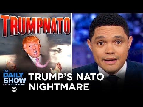 Trump Feuds with France at the NATO Summit | The Daily Show