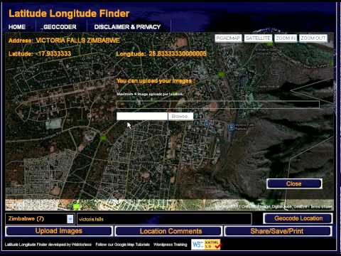 Latitude Longitude Finder