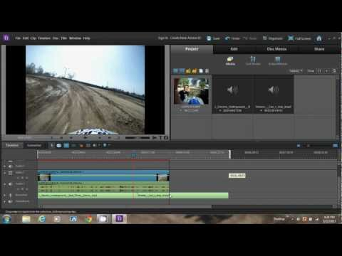 HOW TO ADD MUSIC, DELETE AUDIO, SCALE, AND ADD MEDIA IN ADOBE PREMIERE ELEMENTS 10