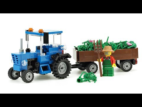 Recipe instruction City SLT GIALLO TRUCK CAMION autocostruzione MOC da LEGO BASIC