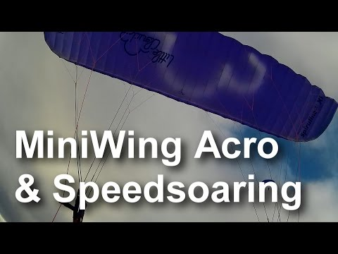 Epic Miniwing Acro Soaring And Speedsoaring