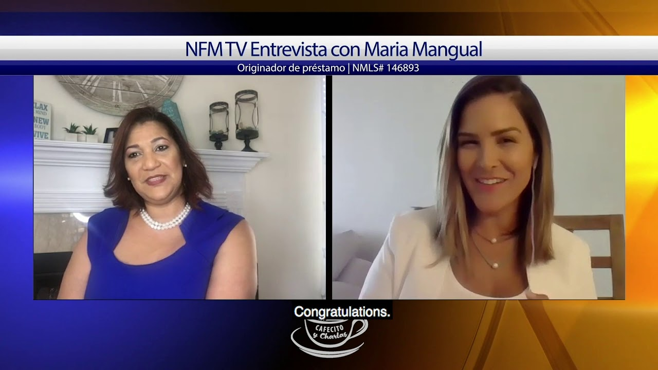 Cafecito y Charlas Interview with Maria Mangual