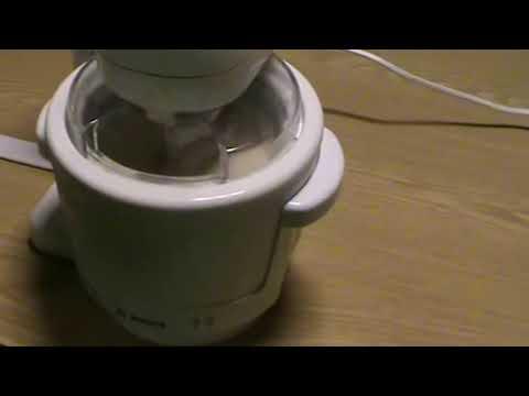 Bosch Profimixx 4 Fagyikészítés MUZ4EB1 Kiegészítővel