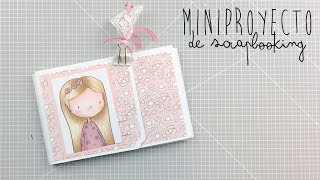 MINI-PROYECTOS SCRAPBOOKING ALULI Adorable zoe 1