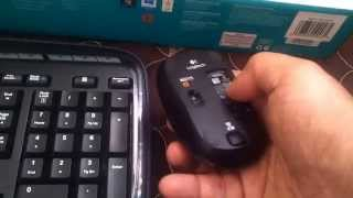 logitech mk330 wireless keyboard/ mouse  combo review