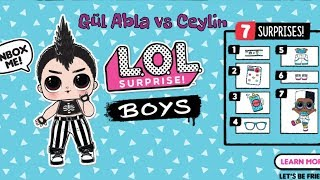 YENİ LOL BOYS Erkek Bebekler Challenge NEW LOL Surprise BOYS Brothers L.O.L Surprise Bidünya Oyuncak