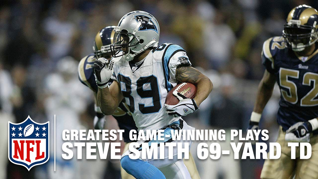 Steve Smith's Game-Winning TD in 2 OT | Panthers vs. Rams | 2003 NFL Divisional Round Highlight