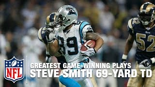 Steve Smith's Game-Winning TD in 2 OT | Panthers vs. Rams | 2003 NFL Divisional Round Highlights