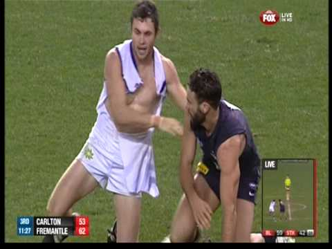 Hayden Ballantyne stirs up Carlton!