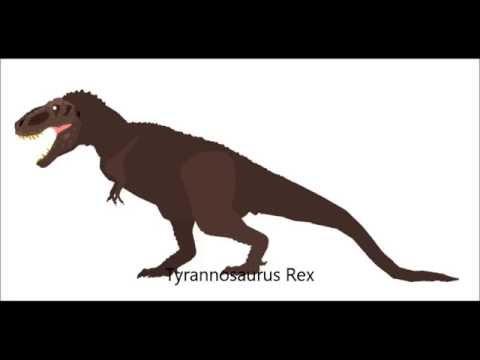PPBA Tarbosaurus vs Tyrannosaurus