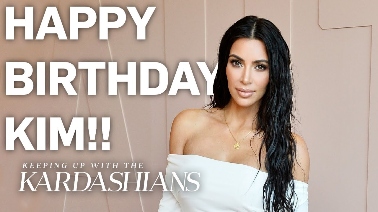 Kim Kardashian's 40th Birthday Shout-Outs From the Whole Family | KUWTK | E!