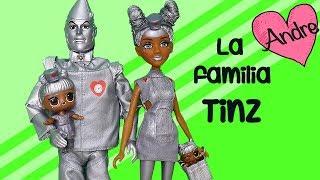 La familia LOL Tinz va al supermercado | Muñecas y juguetes con Andre para niñas y niños