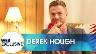 Derek Hough Would Love to Sneeze Tiny Giraffes