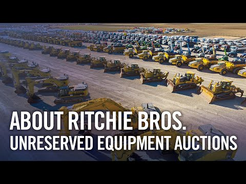 About Ritchie Bros. unreserved equipment auctions