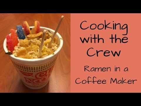 Making Ramen In a Coffee Maker