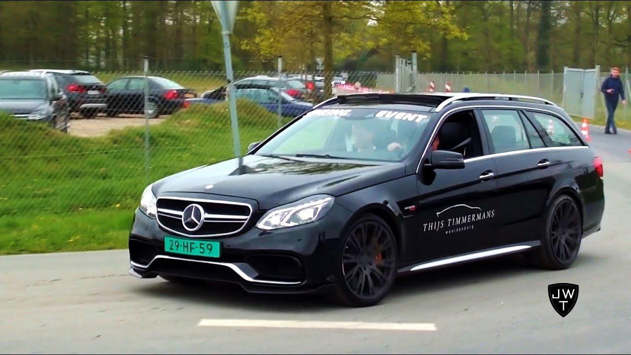 850hp Mercedes Benz Brabus E63 V8 Biturbo Estate Revs