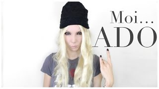 ❥ HOW I DID MY MAKE UP IN HIGH SCHOOL | Mon Make Up Ado