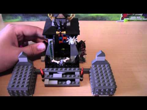 Donutmovies -  Lego Monster Fighters Set 9465 - Zombies - Review