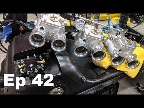 Aeromotive In Tank Fuel Pump Jenvey ITBs & FPR mockup - Datsun 240z Build - Ep 42 - Panchos Garage