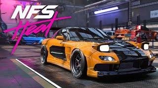 THE BEST DRIFT CAR - MAZDA RX-7 BUILD - NEED FOR SPEED HEAT Gameplay Walkthrough Part 30