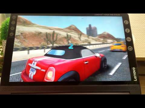 Save Lenovo Yoga Tab 3 Plus game and 4k video test March 2017 Screenshots
