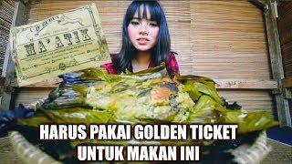 WOW, HARUS PAKAI GOLDEN TICKET UNTUK MAKAN DISINI !! #KulinerSubang