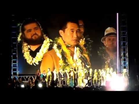 """2014 Sunset On The Beach:  """"Hawaii Five-O"""" 100th Episode."""