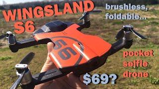 Wingsland S6 Pocket Selfie RC Drone
